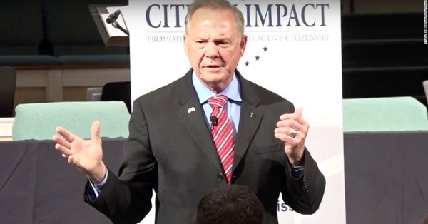 Judge Roy Moore takes lead in Alabama