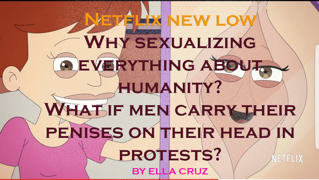 NETFLIX NEW LOW VAGINA ANIMATION