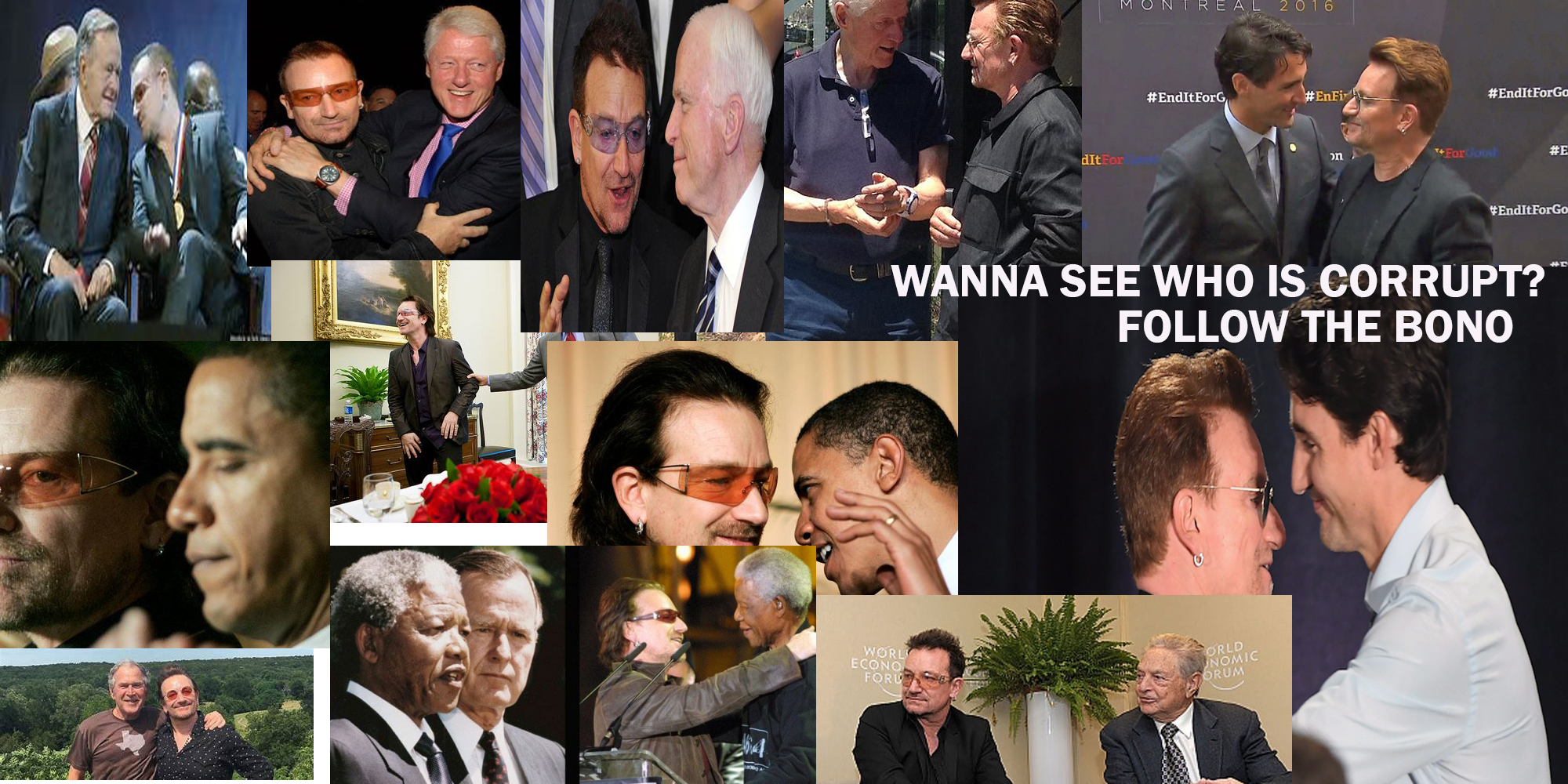 You wanna see who is corrupt? Follow the BONO