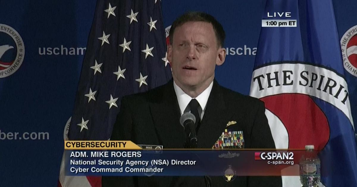 Admiral Mike Rogers is a hero