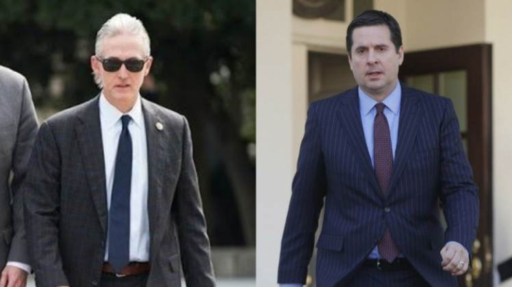 "Breaking: Chairmen Devin Nunes & Trey Gowdy Plot ""Never-Before-Used Procedure"" To #ReleaseTheMemo"