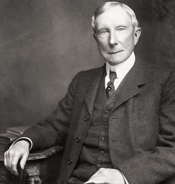 It was John Rockefeller who discovered a usage for the wasted gasoline; A discovery which changed the destiny of the whole world