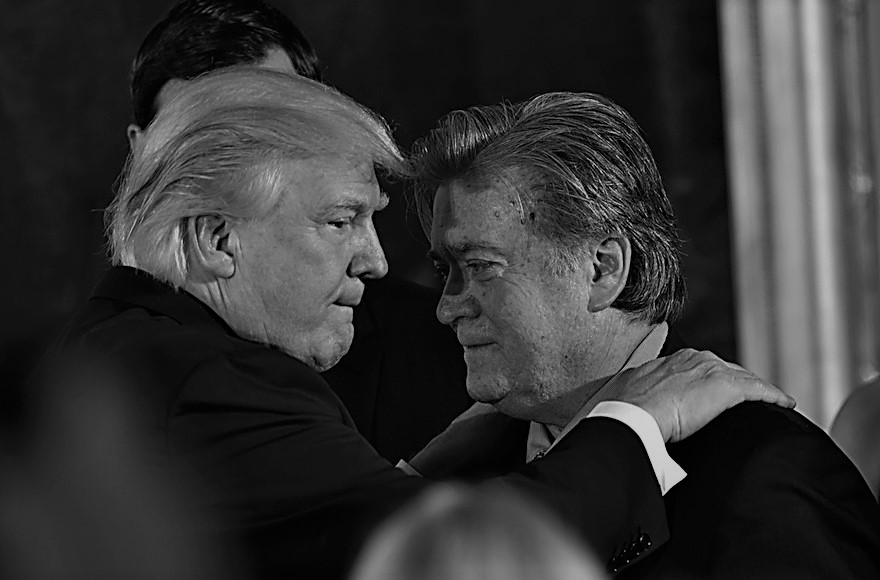 What if Bannon is the architect of the whole Bannon-Trump fight?