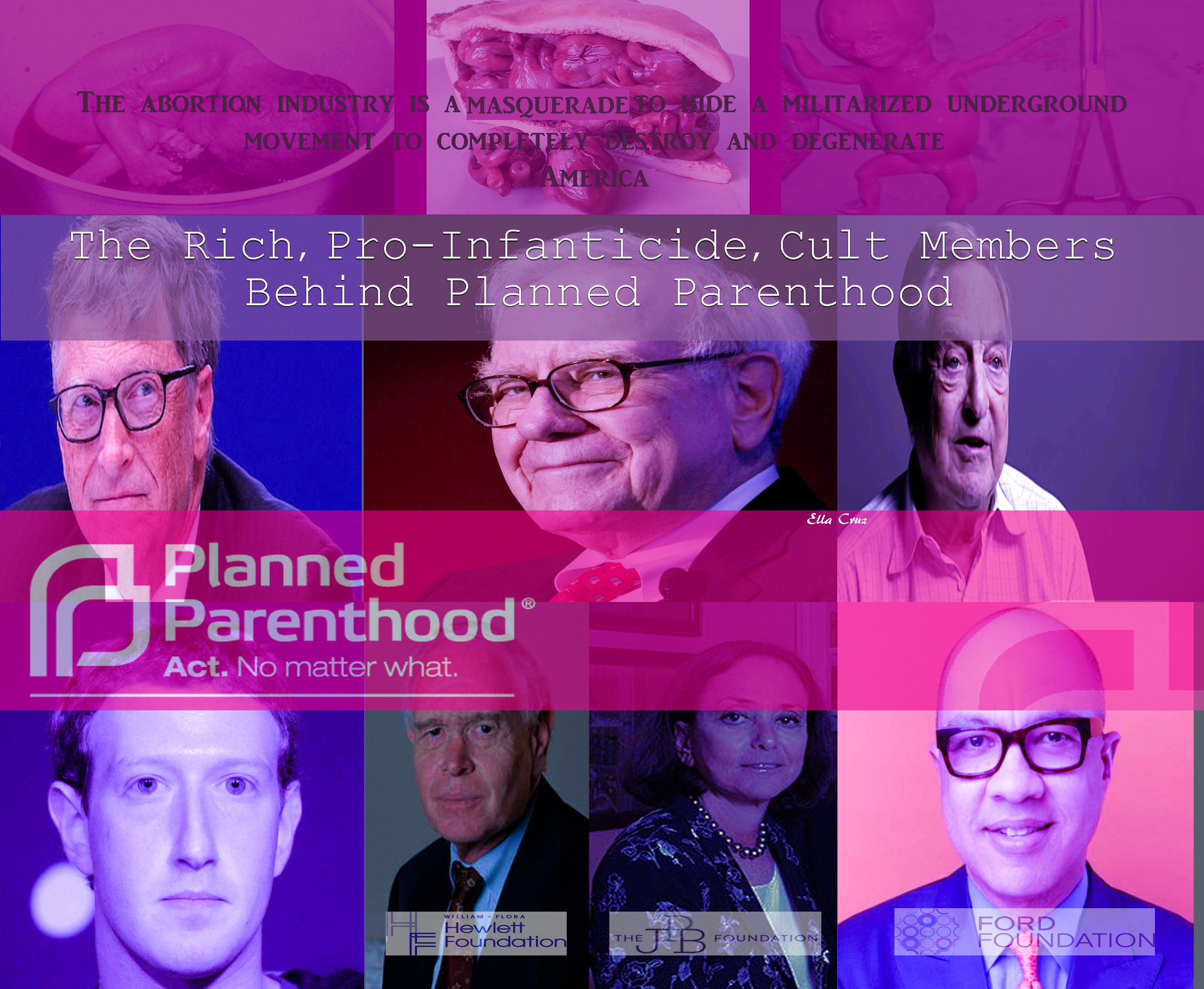 Planned Parenthood Promotes Underage Sex (which is called pedophilia), Harvests babies' Hearts, Invites 14-Year-Old School Kids to Watch Porn & Have BDSM Sex With Whips & Clamps & Pain & Blood,  And helps the Pimp to Use His 14-Year Old Prostitudes After Abortion