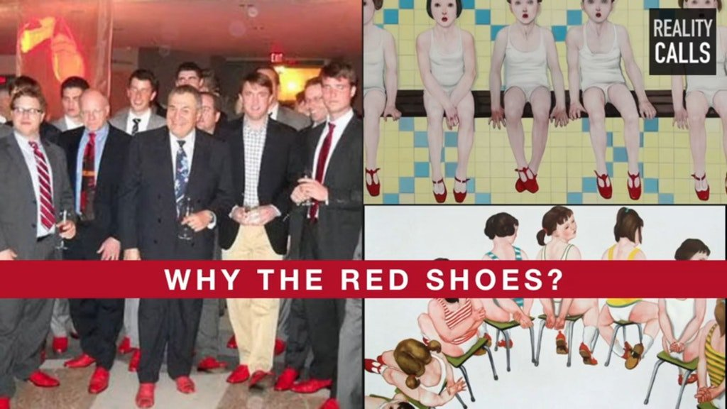 Is This The Mystery of The Red Shoes?