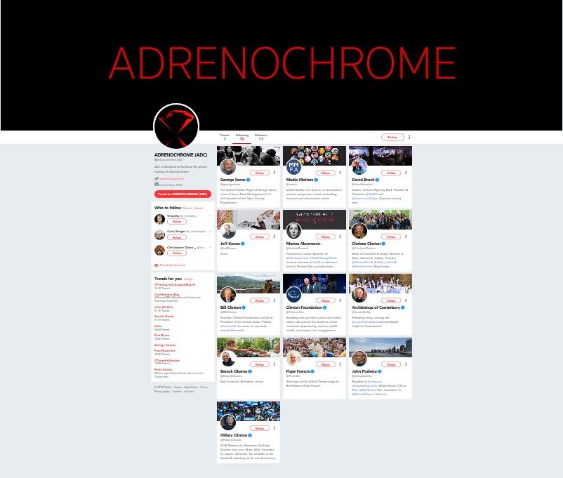 Adrenochrome Mystry?