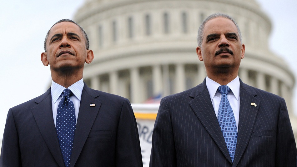 Eric Holder's 1995 Anti-Second Amendment Brainwashing Plan Already Imprinted on Mob's Mentality
