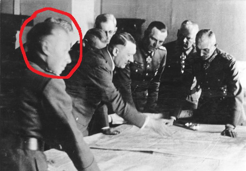 Chairman of NATO Military Committee Was Chief of The General Staff of The Nazi Army