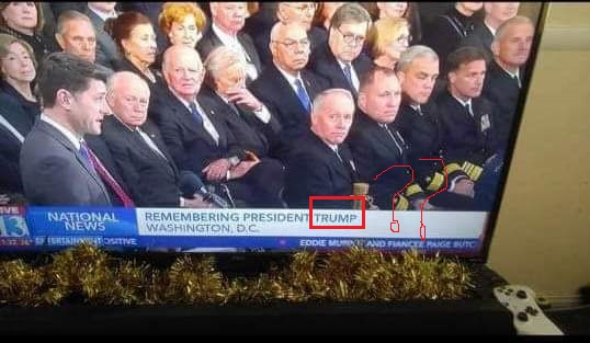 The Mockingbird Media Projects President Trump's Funeral At Bush's Funeral