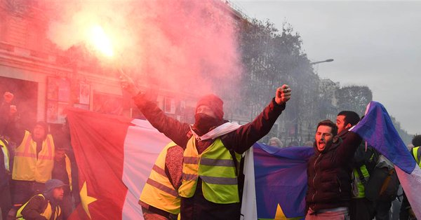 France Fights The New Word Order-Not A Tax Protest-France Burns In Fire Of The Great Awakening