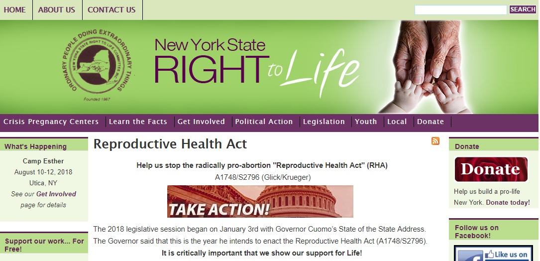 Governor Andrew Cuomo Allies With Hillary Clinton To Legalize Late Time Abortion