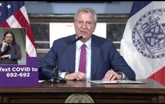 """DeBlasio Attempting To Establish Himself As The U.S First Totalitarian Dictator By Revoking All NYC Citizen Rights Under The First Amendment""-by Sundance"