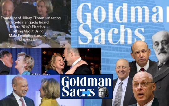 "Uncovered: The Transcript of Hillary Clinton's Secret Meeting With The Goldman $achs's Board Before  2016's Election Where She Talks About Using ""Millennial-Narcissists & White-Male-Feminines"" To Win The Election"