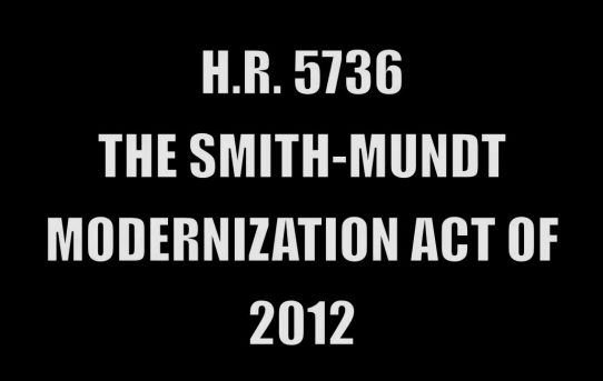 The Obama Administration & The Nullification of The Smith-Mundt Act of 1948