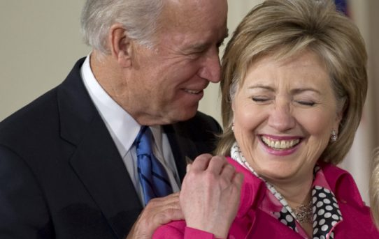 Hillary Rodham Clinton, Who Is Still Alive; Has Endorsed Joe Biden's Presidential Campaign--by National Review