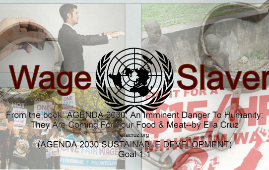 Horrible: Agenda 2030 Goal 1; Wage-Slavery, Social Settlement, Building the 3rd World By Keeping The West In Hunger