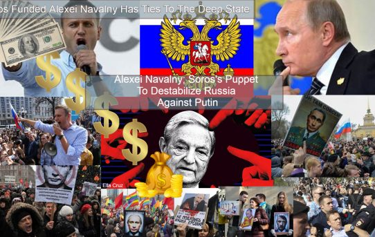 Alexei Navalny; Soros's Tool To Force Russia Bow Down To The Globalist By Putting Her On The Methadone Needle