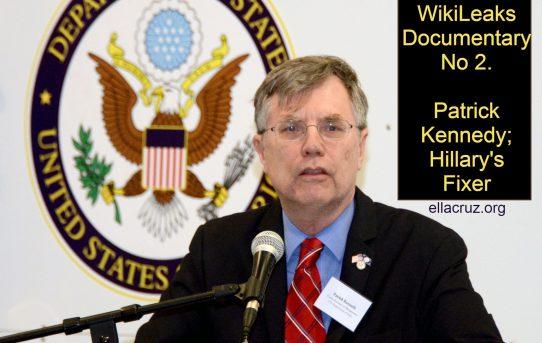 Video: The WikiLeaks documentary No 2; Patrick Kennedy: Hillary's Fixer