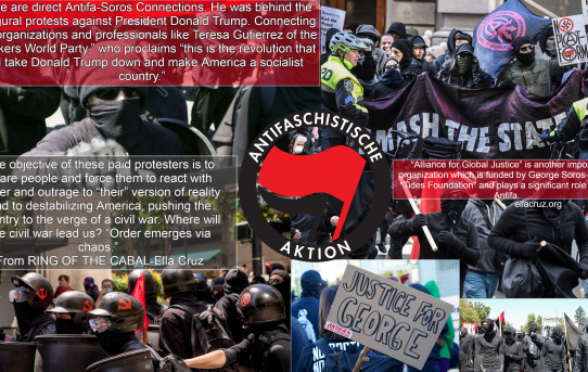 Soros & Antifa Anarchists