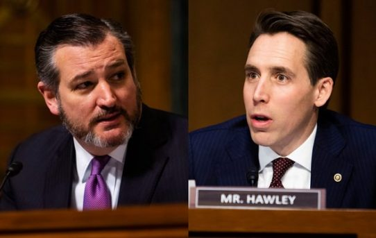 Corporate Thought-Police Vindictive Mandate For 147 Republicans Who Voted Against Certification