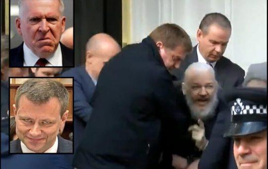 It Was NOT Donald Trump to Arrest Julian Assange. It Was Obama's DOJ & FBI