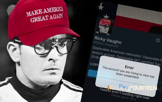 "31-year-old Douglass Mackey's (aka Ricky Vaughn) Arrested on Charges of ""Election Infringing Twitter Posts"".  The Allegations Say ""The Defendant Exploited a Social Media to Infringe The Sacred rights to vote"""