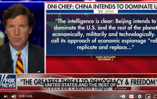 Why Nobody Is Talking About The Chinese Threat? Listen To John Ratcliffe; The Director of National Security