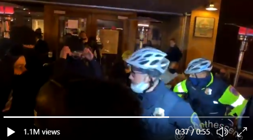 """BLM """"Peaceful Protestors"""" attacking Cops In DC"""