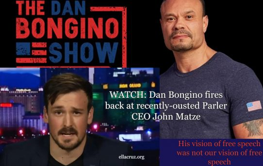 His Vision of Freedom Was Not Our Vision of Freedom; Dan Bongino Fires Back at Parler CEO