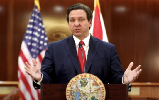 Gov. DeSantis Leads Florida Lawmakers In Penalizing Big Tech Overlords: 'You Can Whiz On My Leg, But Don't Tell Me It's Raining'--by The Federalist
