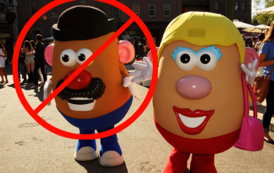 Mr. Potato Head Is Gender Corrected & Not Allowed To Be A Mister Anymore