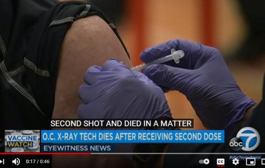 Orange County Health Care Worker Dies After Receiving 2nd Dose of COVID Vaccine | ABC News