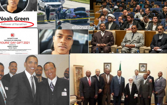 Media Covered-Up the Fact That Cop Killer Noah Green Was a Farrakhan & Nation of Islam Devote