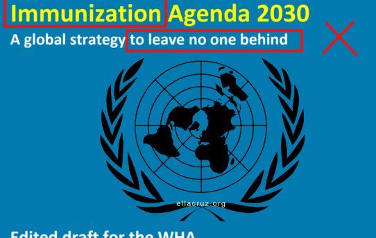 Breaking:  Immunization 2030. Forced Global Eugenics Imposed on Humanity Directly on the United Nations Portal
