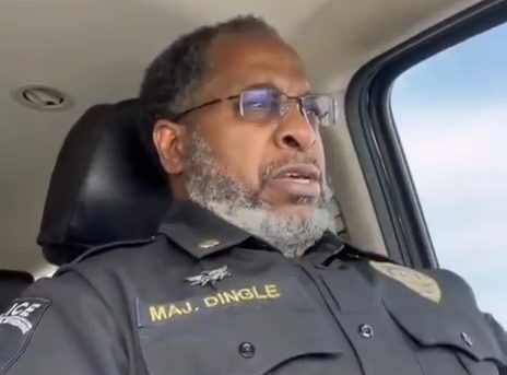 Powerful Video of a Frustrated (Black) Police Officer--Blue Lives Matter!