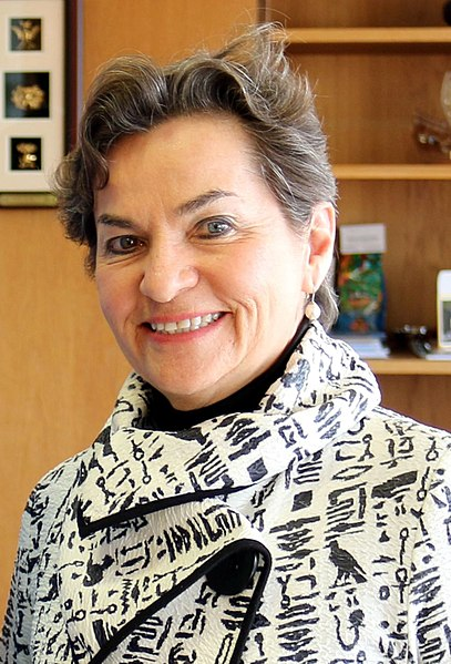 Christiana Figures, the executive secretary of the U.N ring of the cabal