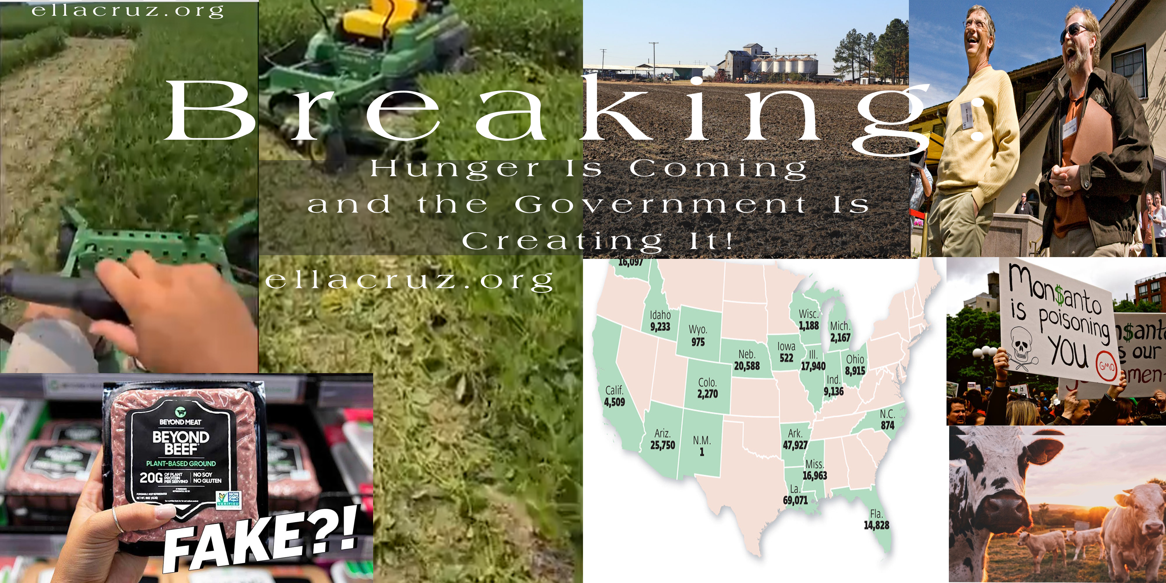 reaking: Hunger Is Coming and the Government Is Creating It! ellacruz.org