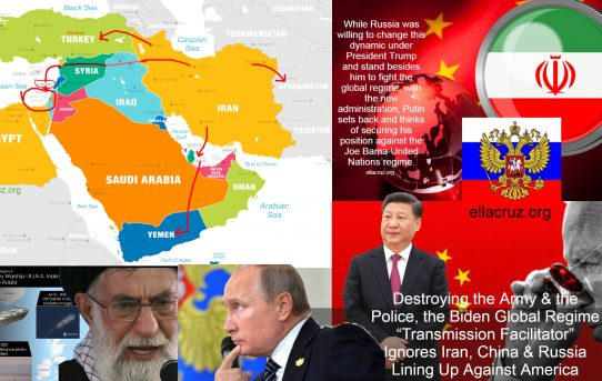 """Destroying the Army & the Police, the Biden """"Transmission-Facilitator"""" Ignores Iran, China & Russia Lining Up Against America"""