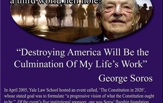 George Soros Funnels $1M To Defund the Police as Violent Crime Surges--by The Washington Free Bacon